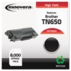 Innovera Remanufactured TN650 High-Yield Toner, Black