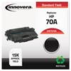 Innovera Remanufactured Q7570A (70A) Toner, Black