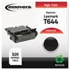 Innovera Remanufactured 64415XA (T644) High-Yield Toner, Black