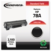 Remanufactured CE278A (78A) Toner, Black
