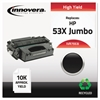 Innovera Remanufactured Q7553X(J) (53XJ) Extra High-Yield Toner, Black