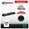 Remanufactured TN210BK Toner, Black
