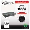 Innovera Remanufactured TN550 Toner, Black