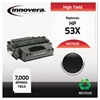 Remanufactured Q7553X (53X) High-Yield Toner, Black
