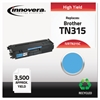Innovera Remanufactured TN315C High-Yield Toner, Cyan