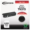Innovera Remanufactured TN315BK High-Yield Toner, Black