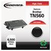 Innovera Remanufactured TN560 High-Yield Toner, Black