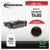 Innovera Remanufactured 12A8325 (T430) High-Yield Toner, Black