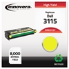 Remanufactured 310-8401 (3115) High-Yield Toner, Yellow