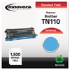 Remanufactured TN110C Toner, Cyan
