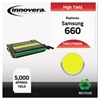 Innovera Remanufactured CLP-660 Toner, Yellow