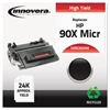 Innovera Remanufactured CE390X(M) (90XM) High-Yield MICR Toner, Black