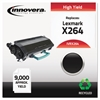 Innovera Remanufactured X264H11G (X264) High-Yield Toner, Black