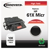 Innovera Remanufactured C8061X(M) (61XM) High-Yield MICR Toner, Black
