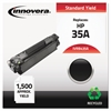 Innovera Remanufactured CB435A (35A) Toner, Black