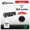 Innovera Remanufactured CB436A(J) (36AJ) Extra High-Yield Toner, Black