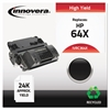 Remanufactured CC364X (64X) High-Yield Toner, Black