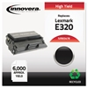 Remanufactured 08A0478 (E320) High-Yield Toner, Black