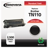 Remanufactured TN110BK Toner, Black