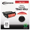 Remanufactured 64015HA(M) (T640M) High-Yield MICR Toner, Black