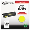 Innovera Remanufactured TN315Y High-Yield Toner, Yellow