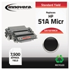 Innovera Remanufactured Q7551A(M) (51AM) MICR Toner, Black