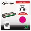 Remanufactured 310-8399 (3115) High-Yield Toner, Magenta