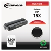 Innovera Remanufactured C7115X (15X) High-Yield Toner, Black