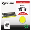 Remanufactured TN115Y High-Yield Toner, Yellow