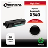 Innovera Remanufactured X340 High-Yield Toner, Black