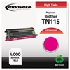 Innovera Remanufactured TN115M High-Yield Toner, Magenta