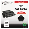 Innovera Remanufactured CE255X(J) (55XJ) Extra High-Yield Toner, Black
