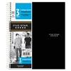 Wirebound 3-Subject Notebook, College Rule, 11 x 8 1/2, 150 Sheets, Assorted