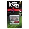 Krazy Glue Single-Use Tubes w/Storage Case, 0.07 oz, 4/Pack