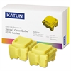 Katun 39399 Compatible 108R00928 Solid Ink Stick, Yellow, 2/BX
