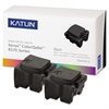 Katun 39401 Compatible 108R00929 Solid Ink Stick, Black, 2/BX