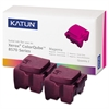 Katun 39397 Compatible 108R00927 Solid Ink Stick, Magenta, 2/BX