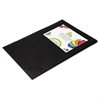 Smart-Fab Smart Fab Disposable Fabric, 12 x 18 Sheets, Black, 45 per pack