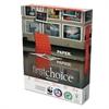 Domtar MultiUse Premium Paper, 98 Brightness, 24lb, 8-1/2 x 11, White, 5000 Shts/Ctn