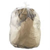 High-Density Can Liners, 38 x 60, 60-Gallon, 22 Micron, Clear, 25/Roll