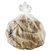 Commercial Can Liner, 17 x 18, 4-Gallon, 6 Mic, Natural, 50 Bags/RL, 40 Rolls/CT