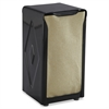 San Jamar Tabletop Napkin Dispenser, Tall Fold, 3 3/4 x 4 x 7 1/2, Capacity: 150, Black