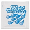 Sanfacon Fresh Nap Moist Towelettes, 4 x 7, White, Lemon, 1000/Carton