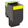 Lexmark 80C10Y0 Toner, 1000 Page-Yield, Yellow
