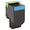 Lexmark 80C1XC0 Toner, 4000 Page-Yield, Cyan