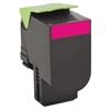 Lexmark 80C10M0 Toner, 1000 Page-Yield, Magenta