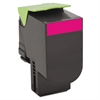 Lexmark 80C1XM0 Toner, 4000 Page-Yield, Magenta