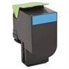 Lexmark 80C10C0 Toner, 1000 Page-Yield, Cyan
