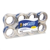 "Duck HP260 Packaging Tape, 1.88"" x 60yds, 3"" Core, Clear, 8/Pack"