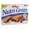 Cereal Bars, Blueberry, Indv Wrapped 1.3oz Bar, 16/Box